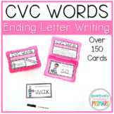 CVC Words Ending Sound Writing