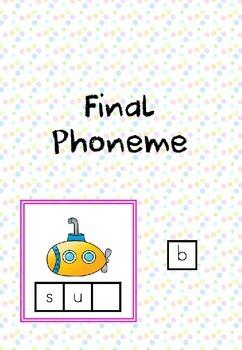CVC Words - Final Phoneme