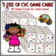 CVC Words Find My Match Card Game **FUN**