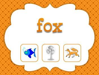 CVC Words: Find the CVC Picture Game (Smartboard/Promethean Board)