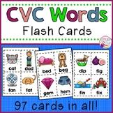 CVC Words Flash Cards