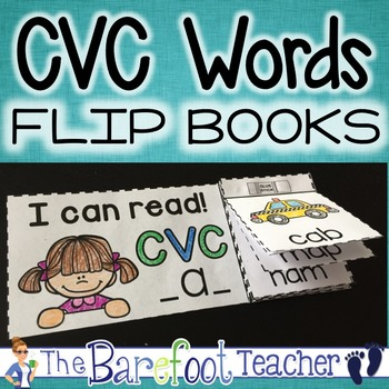 CVC Words Flip Books