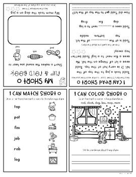 CVC Words Flip Books