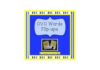 CVC Words Flip-ups