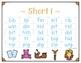 CVC Words Fluency Charts