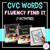 CVC Words Fluency Find It®