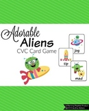 CVC Words Game - Adorable Aliens