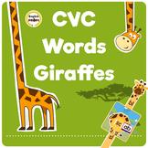 CVC Words Giraffes