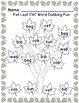 CVC Words In The Leaves!  ~Fall Word Work Center Using Dot