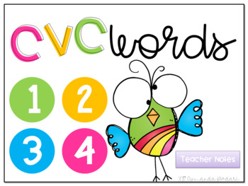 CVC Words Interactive Game
