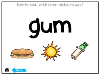 CVC Words Interactive Game
