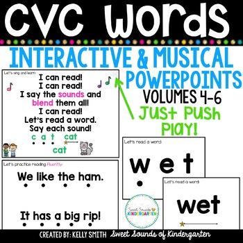 cvc powerpoint teaching resources teachers pay teachers