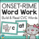 CVC Words Activities Bundle