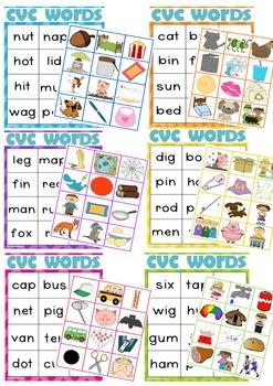 CVC Words - Literacy Centre Activity ~ Miss Mac Attack ~