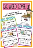 CVC Words - Literacy Centre Activity ~ Miss Mac Attack ~