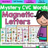 CVC Words - Magnetic Letters