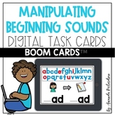 CVC Words Manipulating Beginning Sounds Boom Cards™: Dista