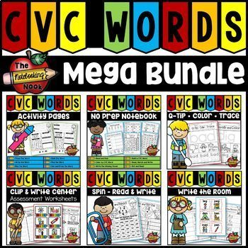 CVC Words Mega Bundle