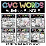 CVC Words Mega Bundle - Activities, Printables, Centers, G