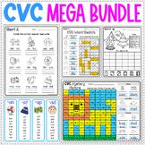CVC Words Mega Bundle   CVC Word Families   CVC Review