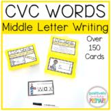 CVC Words Middle Vowel Sound Writing