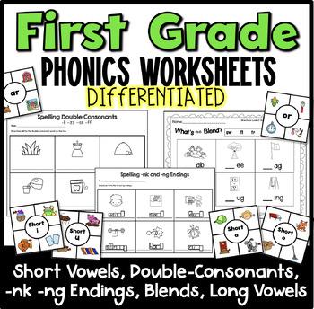 CVC Words, Middle Vowel Sounds, Ending Sounds, Blends