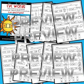 CVC Words Distance Learning