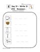 Kindergarten Word Families - CVC Words - Activities