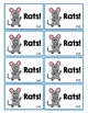 CVC Words - Oh Rats!