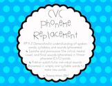 CVC Words Phoneme Replacement