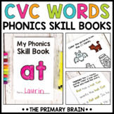 CVC Words Phonics Skill Books   CVC Word Family Book