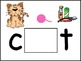 CVC Words Play Dough Mats (Black Frames)