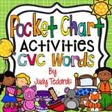 CVC Words Pocket Chart Activities