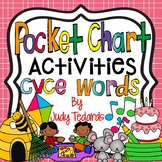 CVCe Words Pocket Chart Activities