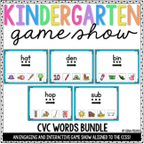 CVC Words PowerPoints {The Bundle} | Distance Learning