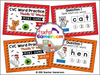 CVC Words Practice Bundle