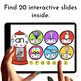 CVC Words Practice {Gumball Machines} for Google Classroom
