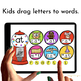 Google Classroom™ Activities for ELA   CVC words