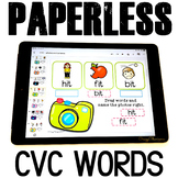 CVC Words Practice {Photos and Cameras} for Google Classroom™