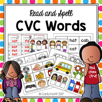 CVC Words - Read & Spell With Short Vowels!