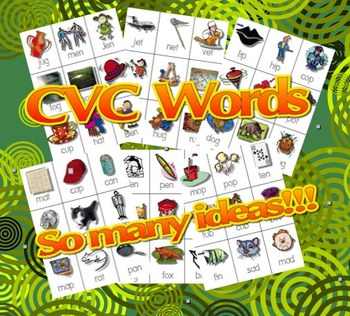 CVC Words - Real and Nonsense Words