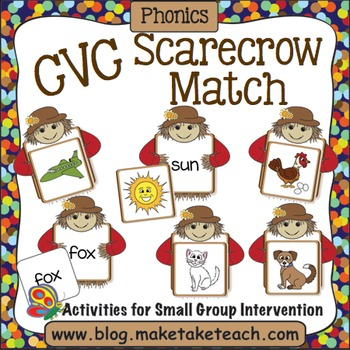 CVC Words - Scarecrow Match