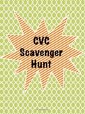 CVC Words Scavenger Hunt
