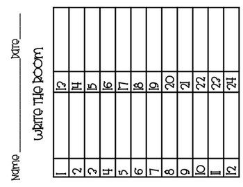 CVC Words Scoot / Write The Room