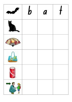 CVC Words - See and Write