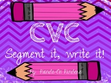 CVC Words- Segment & Spell