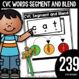 CVC Words: Segment and Blend