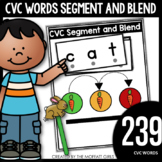 CVC Words: Segment and Blend