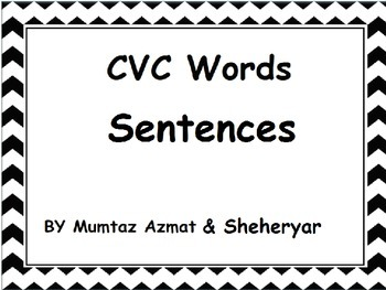 CVC Words Sentences: