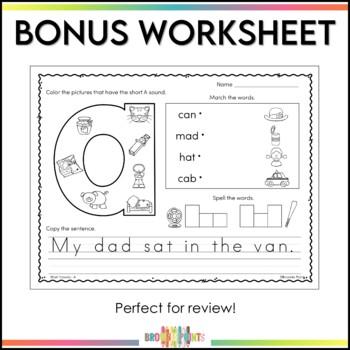 CVC Words - Short A